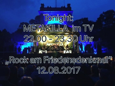 METAKILLA on TV !!!